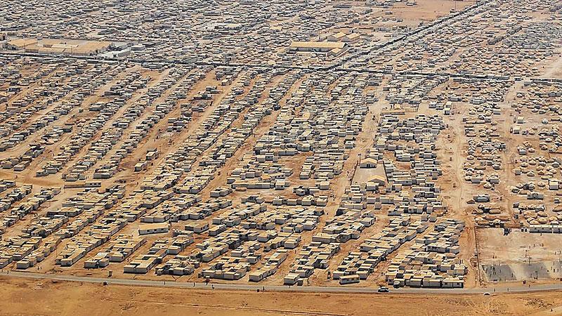 Za Atari Refugee Camp Orient